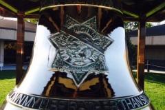 Highway Patrol Bell Close up